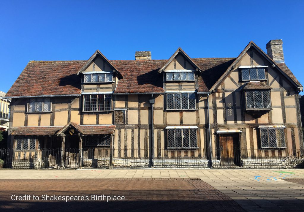 Credit Shakespeare's Birthplace